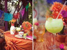 Decoración de boda mexicana*