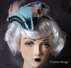 cunene on etsy- Marie Antoinette fascinator <3