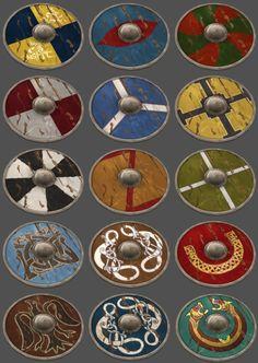 Viking shields