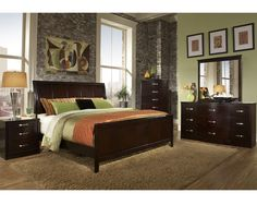 Bedrooms on pinterest 16 pins for Factory direct bedroom furniture