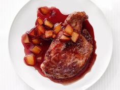 Pork With Plum Sauce #Fruit #Protein #MyPlate