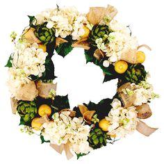 artichok wreath