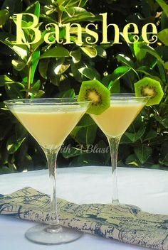 cocktail alcoholicdrink, banana flavor, banana cocktails, creami banana