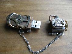 Steampunk USB