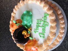 awesom cake, thanksgiving cakes, cake stuff, cake idea, custom cake, fall cake, sweet cake, thanksgiv cake, cakescupcak