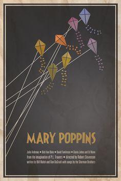 Classic movie print: Mary Poppins