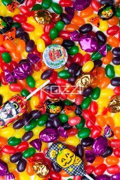 jellybean candies. - Close-up of jellybean candies.