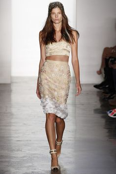 Ava Smith in Peter Som Spring 2013 #ss13 #nyfw