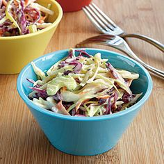 Family-Friendly Sides | Crunchy, Creamy Coleslaw | CookingLight.com