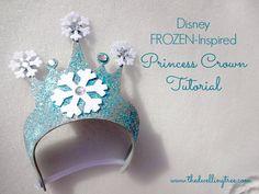 Disney FROZEN-Inspired Princess Crown Tutorial! Inspired by Elsa's beautiful gown!  #FrozenFun #Cbias #shop