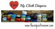 Love My Cloth Diapers - The Inquisitive Mom @Cotton Babies #lovemyclothdiapers