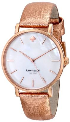 kate spade new york Women's 1YRU0226 Metro Analog Display Japanese Quartz Rose Gold Watch Watch Review - At Amazon Products Reviews, the privacy of our visitors is of extreme importance to us (See this article to learn more about Privacy Policies.). This privacy policy document outlines the types of personal information is received and collected by Amazon Products Reviews and how it is used.Log... - http://thequickreview.com/kate-spade-new-york-womens-1yru0226-metro-analog-di