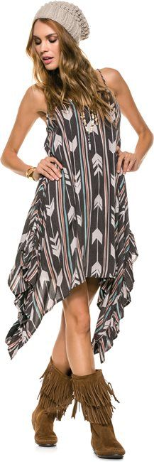 Southwestern style complete with Minnetonka fringe boots http://www.swell.com/THE-COLLECTORS-EDITION-4 #StyleGuide