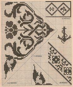 Vintage Cross Stitch Patterns - anchor