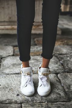 jean, white sneaker, shoe