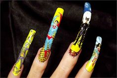 Heroes and Villains: Comic Book Nail Art - Style - NAILS Magazine