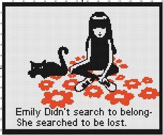 Another Emily Strange Pattern by ~takocos