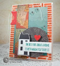Stacey's Stamping Stage, IHP, i {heart} papers, Fresh Squeezed Stamps, Studio Calico Thataway, Ranger Distress