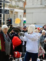 2012 World Alternative Games Twinning Day Pancake Races, Other Events Promote Goodwill