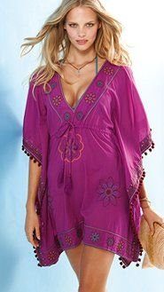 Beach wear lace dress