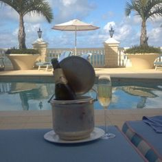 Bermuda. Tucker's Point Resort & Spa. This is the view from our private cabana, outside our room.