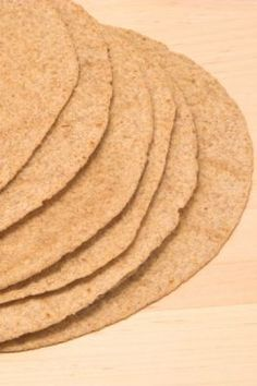 Whole Wheat Tortillas - I Couldn't Stop Eating Them...  Excellent!