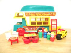 Vintage Fisher Price Camper 994 via toys of the past on etsy