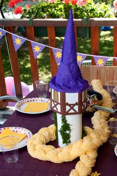 More Tangled party ideas
