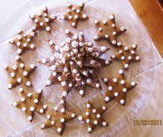 Christmas tree with gingerbreadcookies