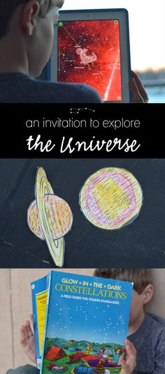 Inspiring ideas and resources for exploring the Universe with the young scientists in our lives...