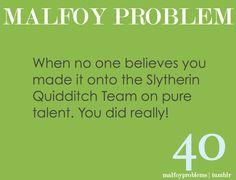Malfoy problem
