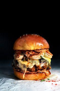 Shrimp Burgers With Roasted Garlic-Orange Aioli Recipes — Dishmaps