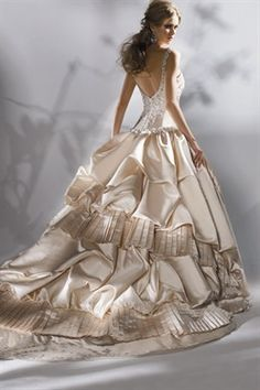 Beautiful gown ...
