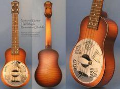 UW Maple Resonator #ukulele