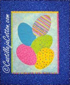 Rotating Eggs Quilt Pattern
