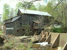 howard creek, grist mill, creek mill