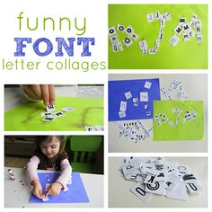 Great letter recognition activity.