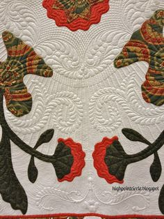 Highpoint Circle: A Stunning Quilt with extraordinary quilting