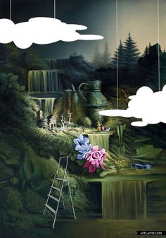 Beautiful Surreal Paintings // Vasilis Avramidis | Afflante.com
