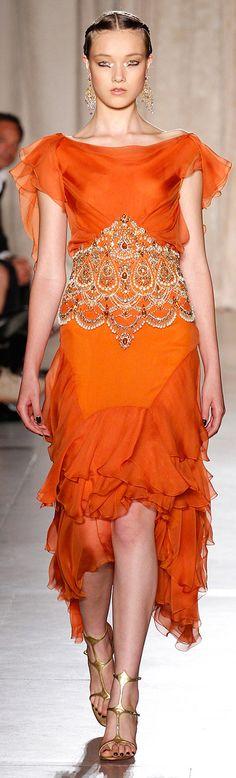 www.fashion2dream.com fashion 2013  Marchesa SS RTW 2013