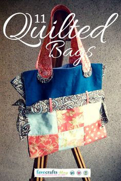 Fashion & Function: Cute Quilted Bag Patterns for Making Life Easier
