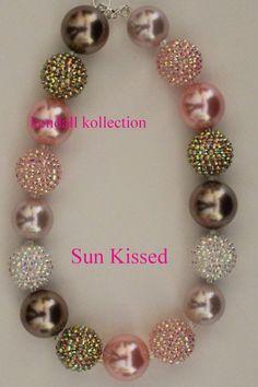 """Sun Kissed"" Chunky Beaded Necklace"