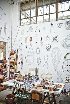 mari andrew's studio