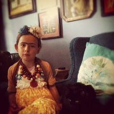 Frida Kahlo little doll. 4th Annual Modern Kiddo We Love Homemade Costumes Parade! – Modern Kiddo