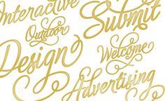typography script