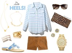 Sweet Southern Prep: Game Day Style with Jack Rogers College Colors: GO HEELS