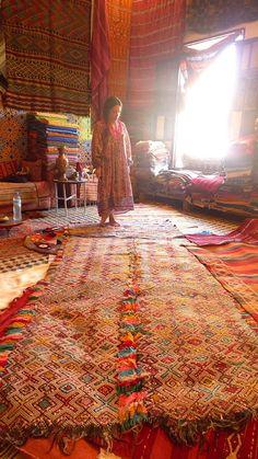 Magical carpet seller! Fes, Morocco