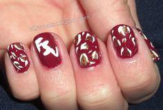 FSU Nail art