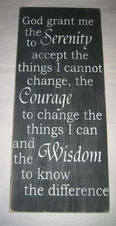 serenity prayer sign from etsy