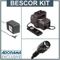 Bescor MP101 Video Motorized Pan Head_- Bundle - with Bescor AC Cord f/Motorized Pan Head & Bescor Motorized Pan Head 20` Extension Cord $129.00